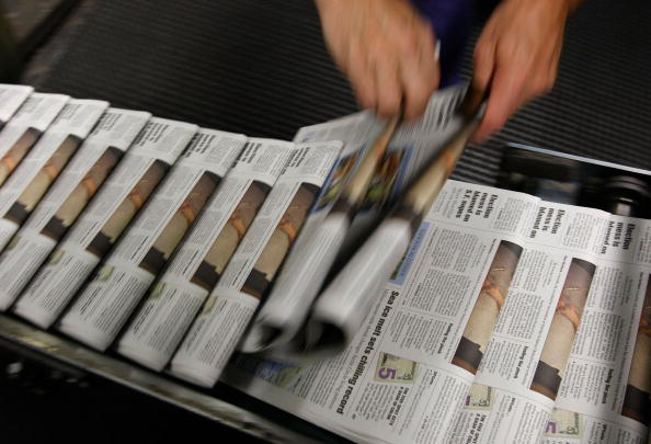 Paper「Dwindling Newspaper Sales Echo Through Economy」:写真・画像(3)[壁紙.com]
