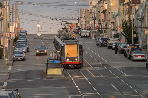 Sports Training「San Francisco lightrail at Sunset District」:スマホ壁紙(5)