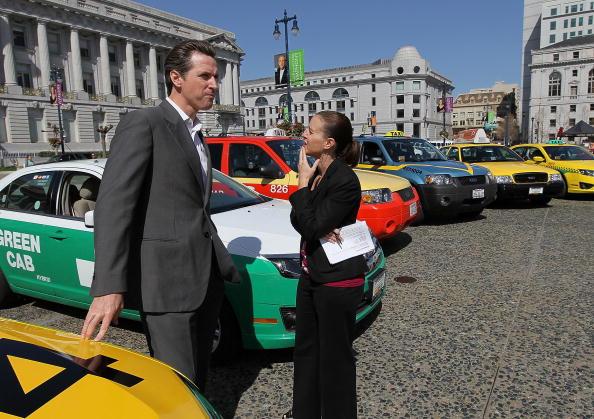 "Advice「Mayor Gavin Newsom Announces ""Green Cab Milestone""」:写真・画像(4)[壁紙.com]"