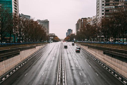 Avenue「Paseo de la Castellana, Madrid」:スマホ壁紙(13)