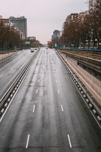 Avenue「Paseo de la Castellana, Madrid」:スマホ壁紙(14)