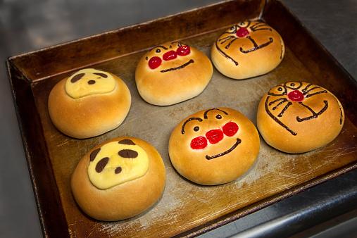 パンダ「Kids decorated pastry just out of oven」:スマホ壁紙(4)