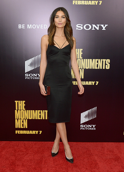 "Black Color「""Monument Men"" New York Premiere - Arrivals」:写真・画像(16)[壁紙.com]"