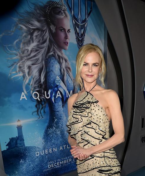 "Tulle Netting「Premiere Of Warner Bros. Pictures' ""Aquaman"" - Red Carpet」:写真・画像(9)[壁紙.com]"