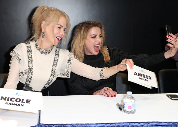 Alternative Pose「Comic-Con International 2018 - DC Entertainment's Warner Bros. Pictures Autograph Signing」:写真・画像(3)[壁紙.com]