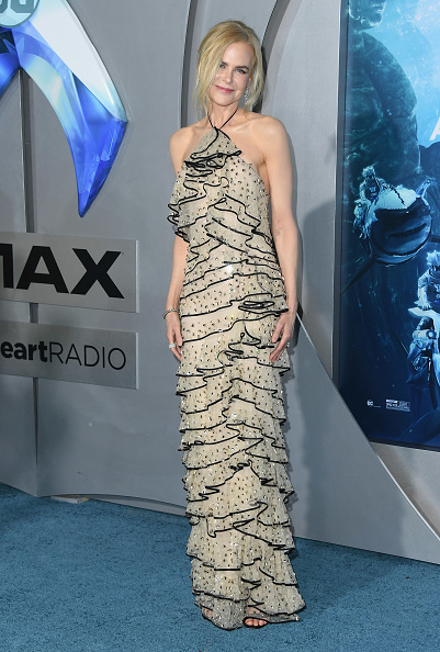 "Embroidery「Premiere Of Warner Bros. Pictures' ""Aquaman"" - Arrivals」:写真・画像(15)[壁紙.com]"