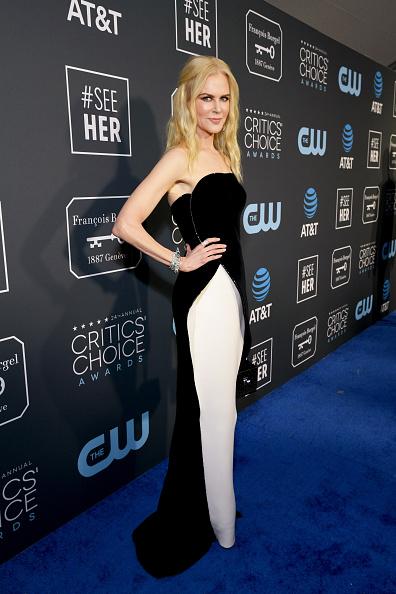 ちりめん生地「The 24th Annual Critics' Choice Awards - Red Carpet」:写真・画像(8)[壁紙.com]