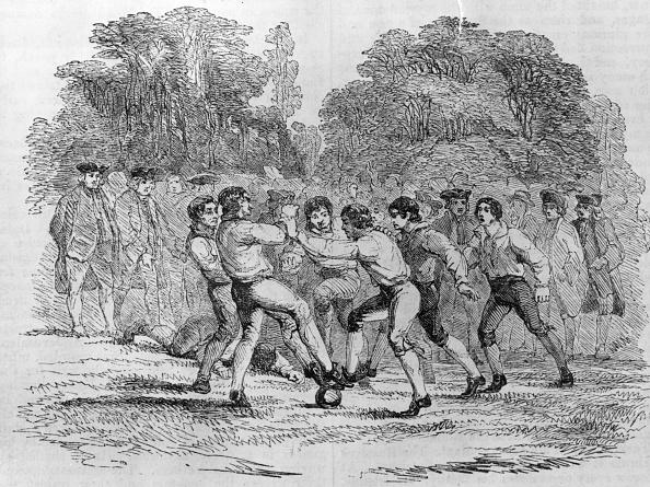 歴史「18th Century Soccer」:写真・画像(4)[壁紙.com]