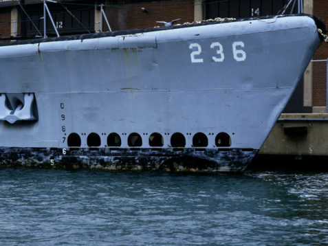 Anchor - Vessel Part「Bow of military ship docked in harbor」:スマホ壁紙(16)