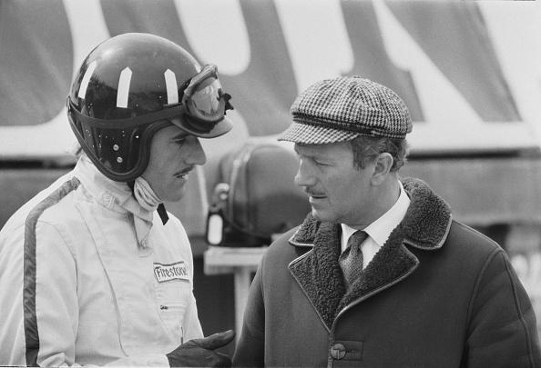 Sports Helmet「Graham Hill And Colin Chapman」:写真・画像(4)[壁紙.com]