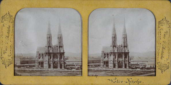 City Life「Vues D'Autriche. Votive Church. About 1880; Hand-Colored.; Semi-Transparent Stereo Photograph.」:写真・画像(16)[壁紙.com]