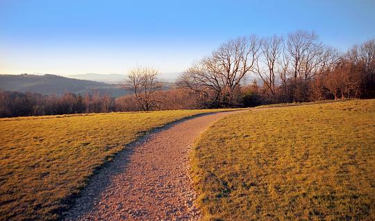 Walking「cotswold soil farmland autumn earth landscape agriculture scenic - shot on film」:スマホ壁紙(8)