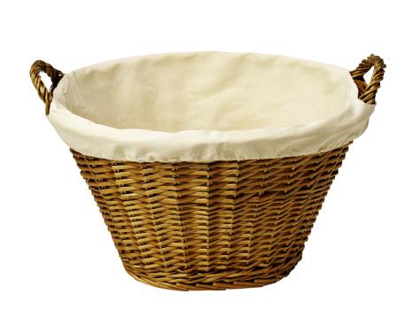 Laundry「Empty wicker laundry basket」:スマホ壁紙(7)