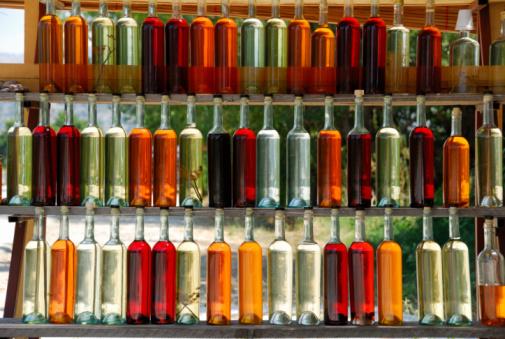 リキュール「色のボトル」:スマホ壁紙(19)