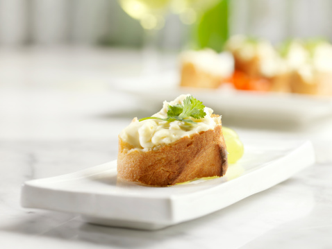 Party - Social Event「Crostini Topped with Brie Cheese」:スマホ壁紙(6)