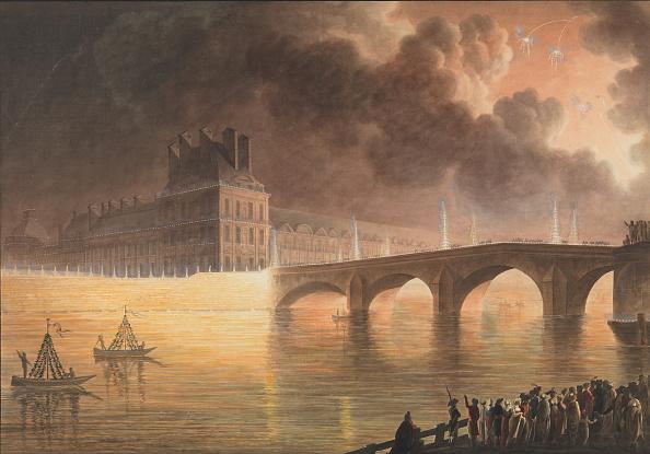Seine River「F�te Pour La Paix G�n�rale Donn�e � Paris Le 18 Brumaire Pont Royal」:写真・画像(18)[壁紙.com]