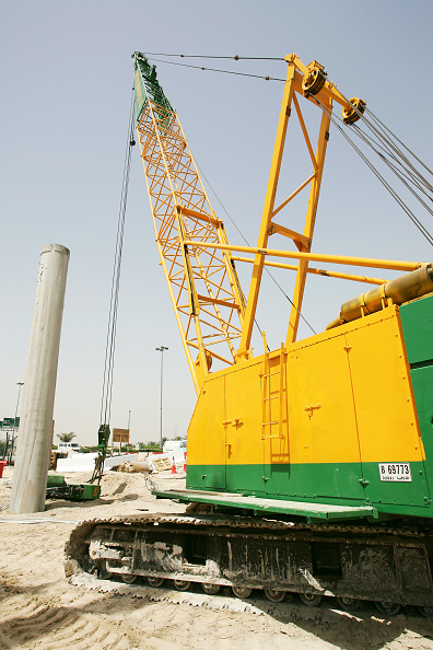 Clear Sky「Dutch Foundation, Piling Contractor, at the Wafi Bridge Construction site, Dubai, United Arab Emirates, May 2007.」:写真・画像(10)[壁紙.com]