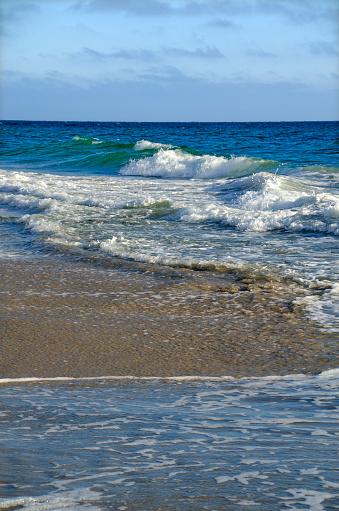 ビーチ「Ocean Foam」:スマホ壁紙(1)