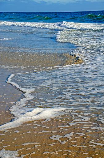 ビーチ「Ocean Foam」:スマホ壁紙(0)