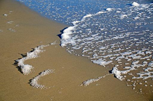 ビーチ「Ocean Foam」:スマホ壁紙(8)