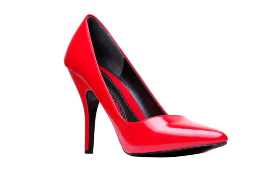 High Heels「Red Elegant Shoe Isolated On White」:スマホ壁紙(18)