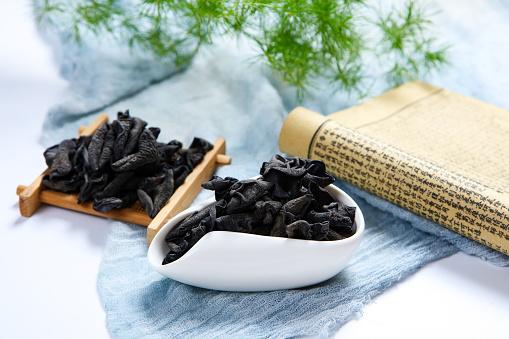 キクラゲ「Neat black fungus」:スマホ壁紙(18)