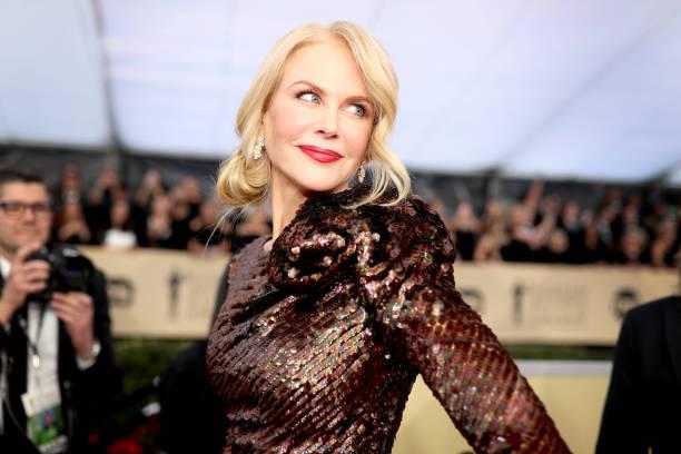 ニコール・キッドマン「24th Annual Screen Actors Guild Awards - Red Carpet」:写真・画像(19)[壁紙.com]