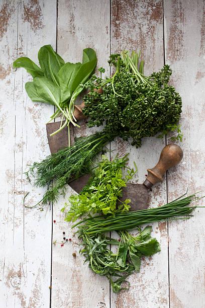 Herbs of Frankfurt green sauce and mezzaluna:スマホ壁紙(壁紙.com)