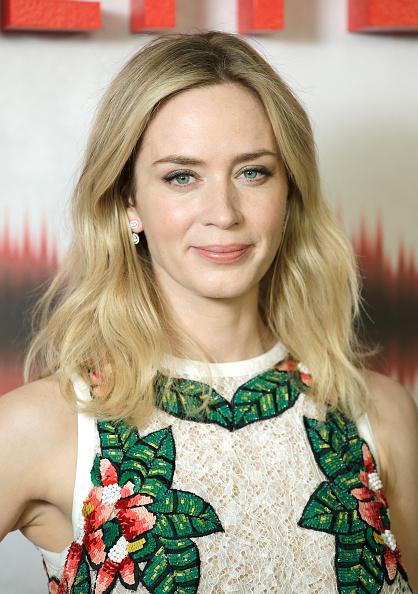 """Emily Blunt「""""A Quiet Place"""" Screening - Arrivals」:写真・画像(5)[壁紙.com]"""