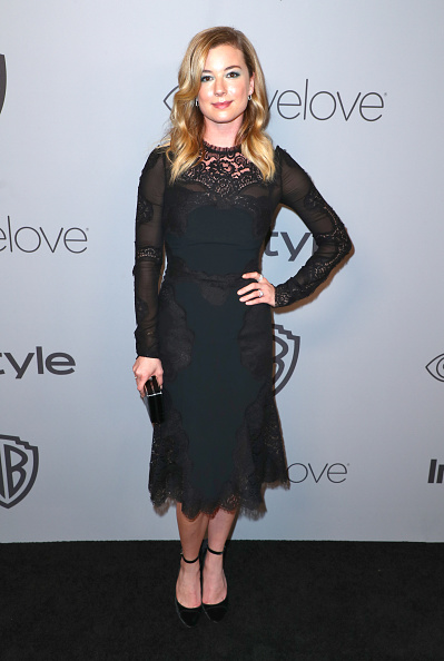 Emily VanCamp「The 2018 InStyle And Warner Bros. 75th Annual Golden Globe Awards Post-Party - Red Carpet」:写真・画像(2)[壁紙.com]