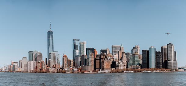 New Jersey「Cityscape Downtown Manhattan New York」:スマホ壁紙(11)