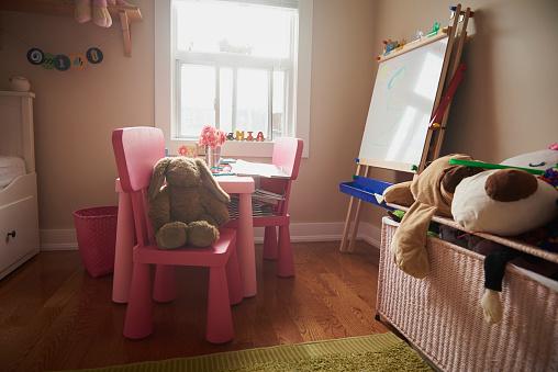 子供「Little girl's bedroom」:スマホ壁紙(4)