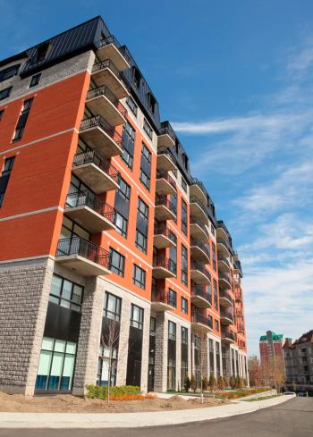 Avenue「Modern Condominium Building Exterior」:スマホ壁紙(3)