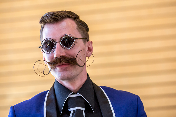 Mustache「World Beard And Moustache Championships 2015」:写真・画像(10)[壁紙.com]