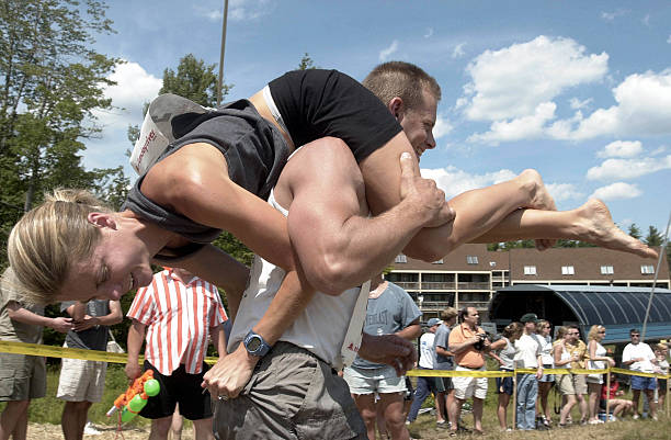 Wife Carrying Contest:ニュース(壁紙.com)
