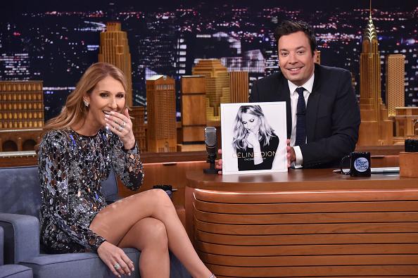 セリーヌ・ディオン「Celine Dion Visits 'The Tonight Show Starring Jimmy Fallon'」:写真・画像(7)[壁紙.com]