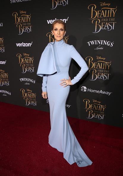 セリーヌ・ディオン「The World Premiere Of Disney's Live-Action 'Beauty And The Beast'」:写真・画像(18)[壁紙.com]