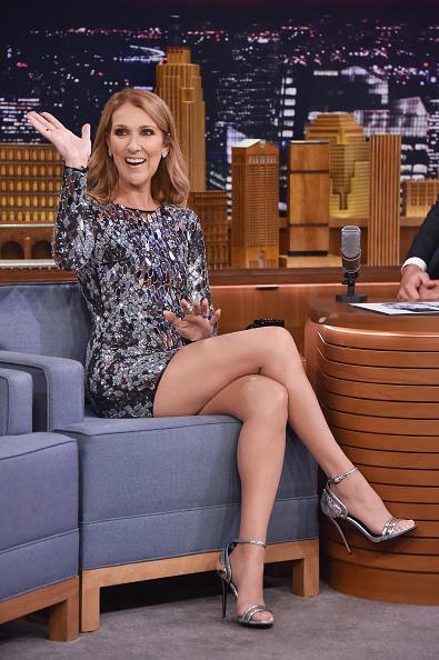 セリーヌ・ディオン「Celine Dion Visits 'The Tonight Show Starring Jimmy Fallon'」:写真・画像(5)[壁紙.com]