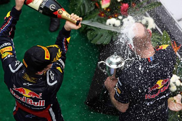 Malaysian Formula One Grand Prix「Adrian Newey, Sebastian Vettel, Grand Prix Of Malaysia」:写真・画像(17)[壁紙.com]