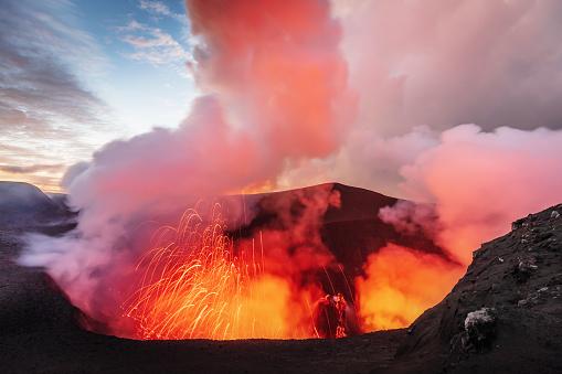 Active Volcano「Volcano Eruption Mount Yasur Tanna Island Vanuatu Lava Crater」:スマホ壁紙(19)