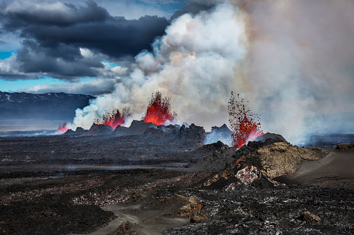 Active Volcano「Volcano Eruption at the Holuhraun Fissure near Bardarbunga Volcano, Iceland」:スマホ壁紙(6)
