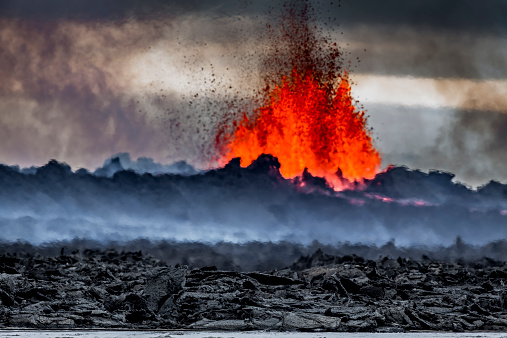 Active Volcano「Volcano Eruption, Holuhraun, Bardarbunga, Iceland」:スマホ壁紙(11)