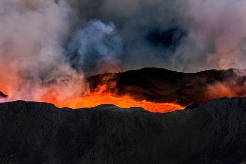 Bardarbunga Volcano「Volcano Eruption, Holuhraun, Bardarbunga, Iceland」:スマホ壁紙(13)