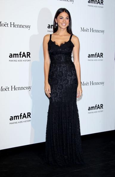 Lace Dress「amfAR Milano 2012 - Arrivals」:写真・画像(4)[壁紙.com]