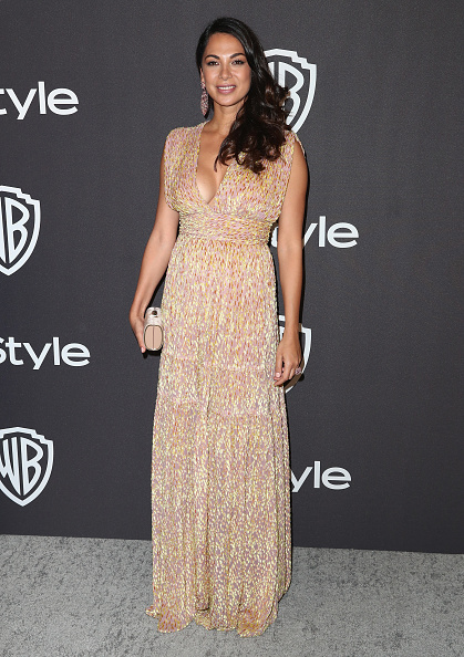 Plunging Neckline「InStyle And Warner Bros. Golden Globes After Party 2019 - Arrivals」:写真・画像(9)[壁紙.com]