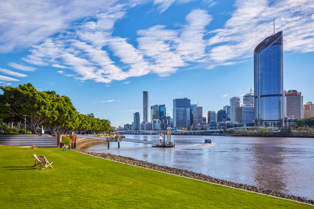 Brisbane City,Queensland,Australia:スマホ壁紙(壁紙.com)