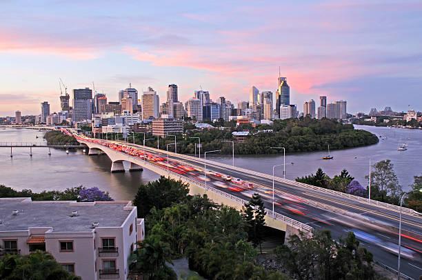 Brisbane City congestion:スマホ壁紙(壁紙.com)