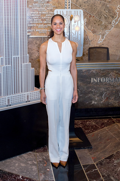 Empire State Building「Misty Copeland & Cindi Leive Light The Empire State Building In Honor Of The 25th Anniversary Of Glamour's Women Of The Year Awards」:写真・画像(3)[壁紙.com]