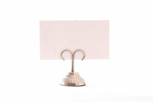 Place Setting「Place Card with holder」:スマホ壁紙(18)