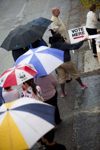 Florida - US State「U.S. Citizens Head To The Polls To Vote In Presidential Election」:写真・画像(18)[壁紙.com]